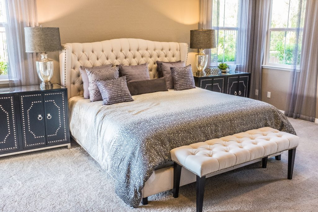 How to choose bedroom carpet