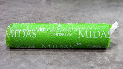 Carpenter Midas 10mm Roll Underlay 15m2 72px
