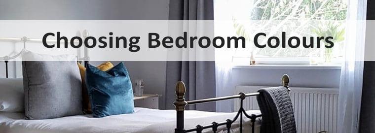 Choosing Bedroom Colours Banner
