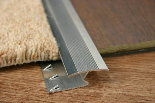 Carpet to Laminate Z Section Trim