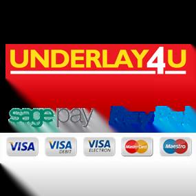 Underlay4u Payment Options