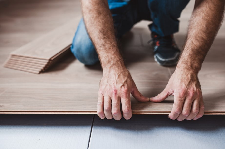 Easy DIY Laminate Flooring Project